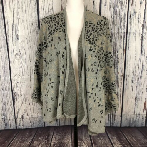 CAbi Womens OS One Size Cape Sweater Style #3115 G