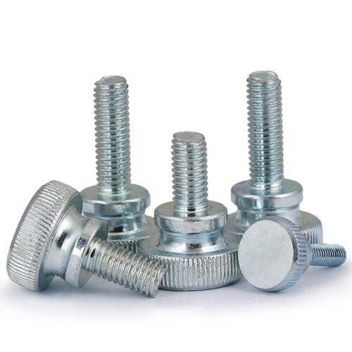 M3-M10 Hand-twisted Screw Large High-head knurl step double-layer adjusting bolt