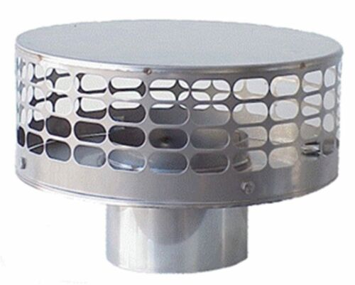 Stainless Steel Liner Top Chimney Caps for Factory Build Double Wall Chimneys
