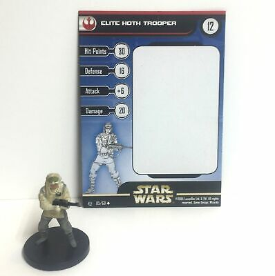 Star Wars Miniatures Force Unleashed 05//60  Elite Hoth Trooper