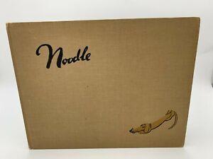 Noodle-Munro-Leaf-1937-First-Edition-1st-DACHSHUND-Dog-Weiner-HB-Bemelmans