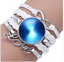 Galaxy Espace Multi Color Infinity Love Bracelet univers Mignon GRATUIT SUIVI NEUF