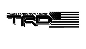 Details about Truck Car Decal - (2) TRD USA EDITION- Vinyl decal Outdoor  vinyl