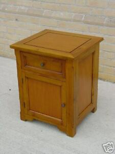 COUNTRY-SIDE-TABLE-MAHOGANY-SINGLE-DRAWER-SINGLE-DOOR