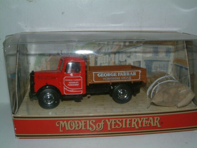"MATCHBOX YY63 1939 BEDFORD K.D TRUCK ""GEORGE FARRAR STONE"""