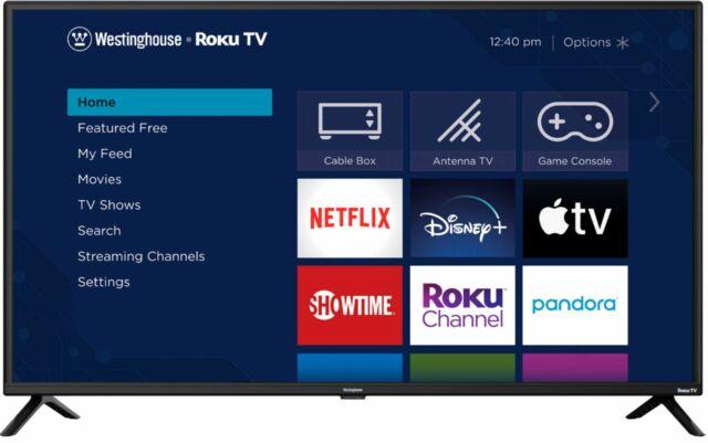 "Westinghouse - 42"" Class Full HD Smart Roku TV"