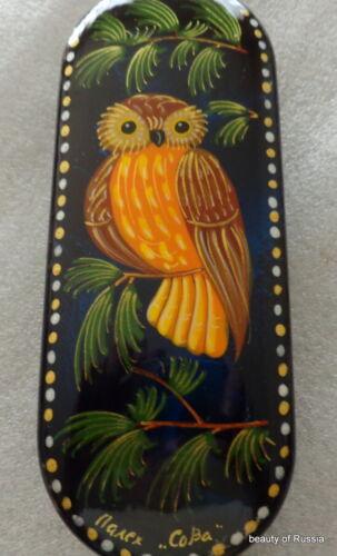 Russian handmade    OWL SUNGLASSES  glasses  case   unisex  6.4 x 2.3x1.1/' #12