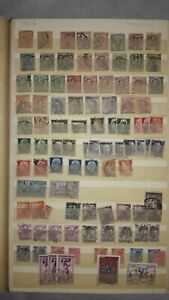 European-Stamp-Album-1800-039-s-and-Later-500-Stamps-Italy-Belgium-Denmark