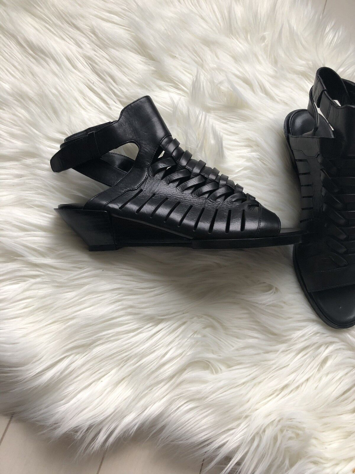 Alexander Wang Wang Wang Nika Sandals Dimensione 37.5 New 49bd3c