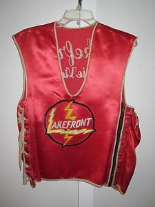 ANTIQUE-VINTAGE-PRAIRIE-VIEW-IL-LAKE-COUNTY-LAKEFRONT-LIGHTNING-SPORTS-JERSEY