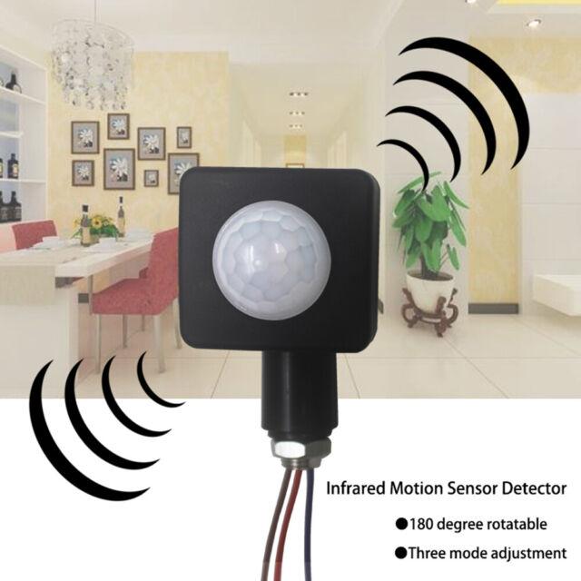 PIR Body Motion Infrared Sensor 220V Lighting Detector Automatic Light Switch