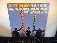 BARNEY KESSEL -Poll Winners ~CONTEMPORARY 7535 {nm} [ojc-158] wRay Brown & Manne
