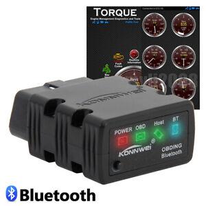 Details about ELM327 Bluetooth OBD2 OBDII Car Code Reader Diagnostic  Scanner For Android PC
