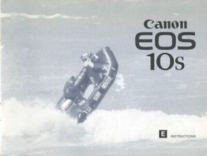 Canon EOS 10s Instruction Manual Original