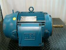 Weg Electric Motor 15hp Ph3 230460v 356178a 1765rpm 1009568228