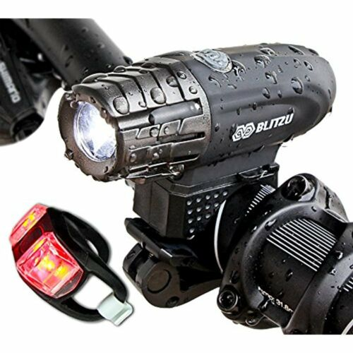 Gator 320 Reflectors USB Rechargeable Bike Light Set POWERFUL Lumens Bicycle LED
