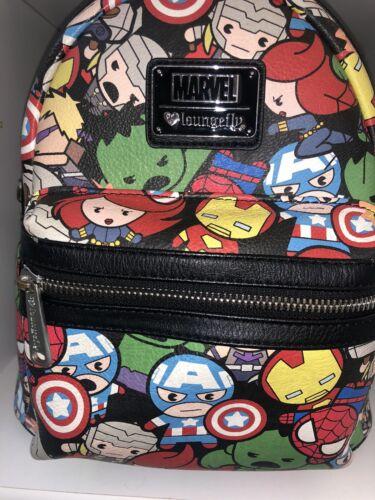 Used Loungefly Marvel Mini Backpack
