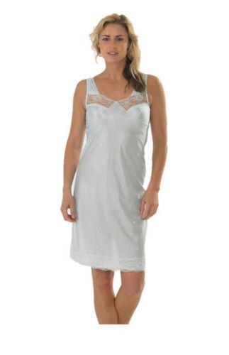 Damen Unterkleid Damen Unterkleid Unterrock Volle Länge Größen 12-28