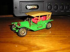 Vintage Matchbox Models of Yesteryear No. Y-9 1912 Simplex Green