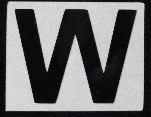 PEEL N STICK vinyl Number /& letter sheet stickers weatherproof door office home