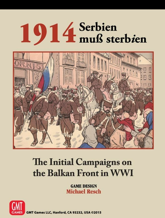 1914 Serbien muB Sterbien, Balkan Front WW I, NEW