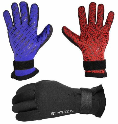 3MM NEOPRENE DIVE DIVING DIVERS WETSUIT WATERSPORTS GLOVES by Typhoon