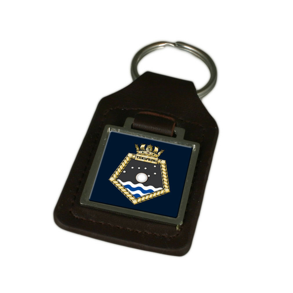 Königliche Marine Marine Marine Königsblau Fleet Auxiliary Tidespring Graviert | Elegante Und Stabile Verpackung  7f04a6