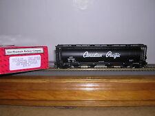 INTER.#45212 C.P.Script 59' Natl.Steel Cylindrical Covered Hopper w/5 #s H.O.Ga.