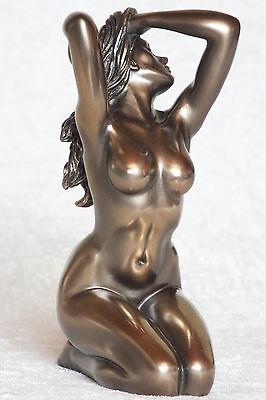 akt,figur,frau,14x9cm,aktfigur,skulptur,deko,bronziert,frauenakt,erotik,nude