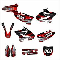 Yz125 Yz250 Graphics For Yamaha 2015 2016 1900 Red