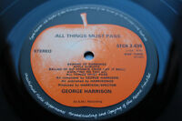 GEORGE HARRISON BEATLES ALL THINGS MUST PASS 1st UK MiNt AUDIO BOX SET W/POSTER