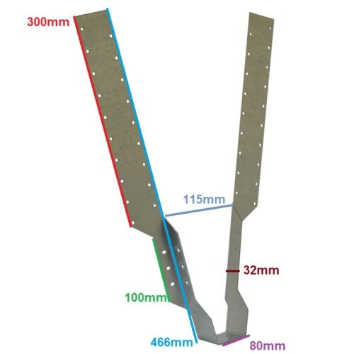Roofing Roof Bat Truss Herringbone Joist Struts Hangers Wood Wall Ties Timber