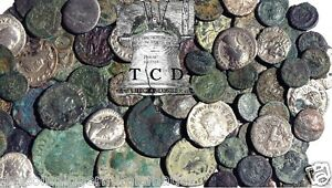 ANCIENT GENUINE ✯ ROMAN - GREEK COIN HOARD BLOWOUT ESTATE SALE ALMOST 2000 yrs ✯