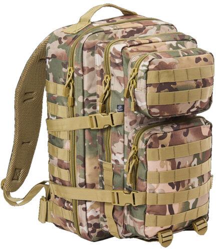 Brandit US Cooper LARGE Assault Pack II Tactical camo BW Army Zaino