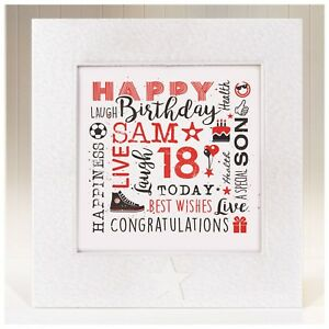 Image Is Loading Handmade Birthday Card Son 10 11th 12th 13th