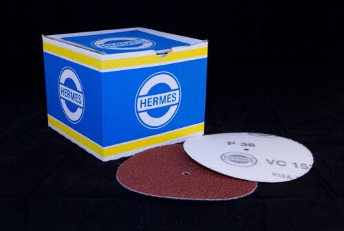 Moor Floor Finishes Sanding Discs 6 inch 150mm Velcro Backed  Alu Oxide  80G