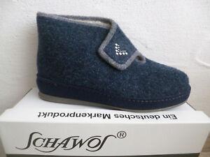 schawos-Zapatillas-de-estar-por-casa-Mujer-Sandalias-Azul-2060-NUEVO