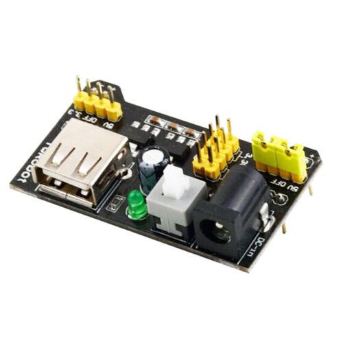 3.3V//5V MB102 Breadboard Power Supply Modul Solderless Bread Board BAF