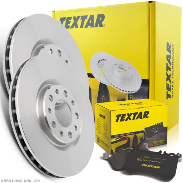 Bremsbeläge vorne für Fiat Nissan Opel Renault Textar Bremsscheiben