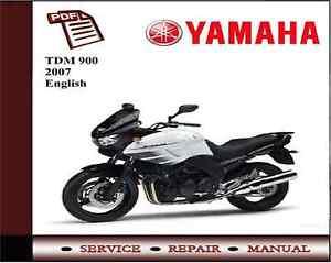 yamaha tdm900 tdm 900 2007 service repair workshop manual ebay rh ebay co uk East Midlands Superbikes Yamaha TDM 900 Yamaha TDM 900 Police