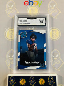 2017-Donruss-Evan-Engram-330-Rated-Rookie-10-GEM-MINT-GMA-Graded-Card