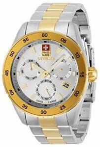 Invicta Men's 33475 Pro Diver Quartz Chronograph Silver Dial Watch