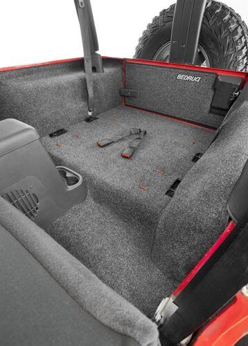 BedRug™ Rear 4 Piece Cargo Kit For 1997-2006 Jeep Wrangler TJ BRTJ97R