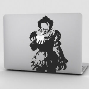 Pennywise Macbook Pro Air Laptop Sticker Decal It Clown