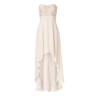 Vera Mont Abendkleid Lang PUDER 25225000 Hochzeit Festmode ...