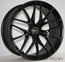 Breyton Fascinate Matt Black Felgen 8,5 und 10x20 Zoll BMW 1er 3er 4er  M-Modell