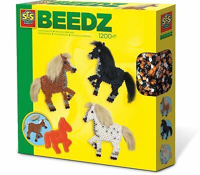 Energisch Ses Creative 06259 Bügelperlenset Pferde Mit Mähnen Neuheit 2019 Ovp, Spielzeug