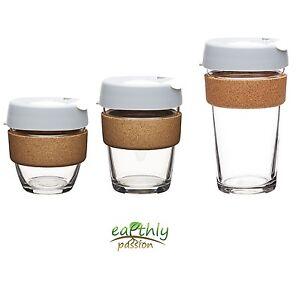 KeepCup-Brew-Glass-Coffee-Cup-Tea-Reusable-Drink-Fika-Cork-8oz-12oz-16oz-3-sizes