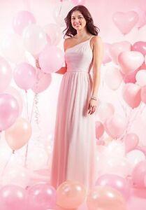 b6d4e1eaa2e4e ALFRED ANGELO $149 LOVES FIRST BLUSH PINK 10 BRIDESMAID MOB FORMAL ...