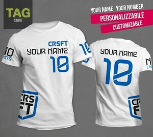 Numero T Customizable Crossfit Games Replica Nome 2019 Shirt WIYED9H2